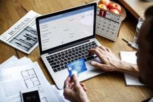 E-banking Payment Financial Website Connection