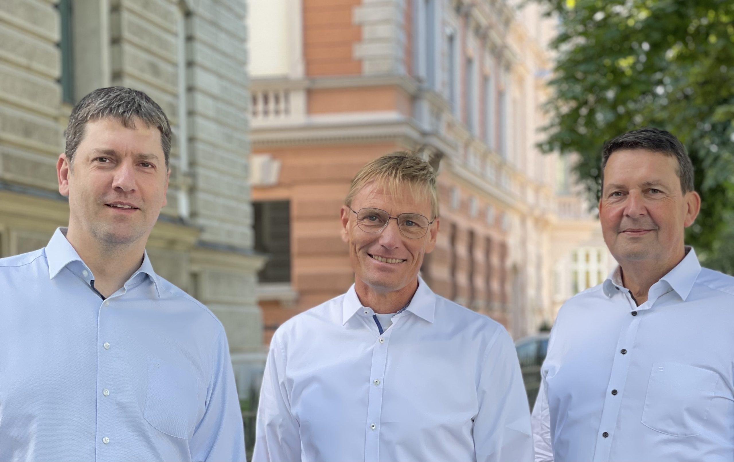 Neue Mitglieder der Geschäftsführung: SHC stellt Weichen für die Zukunft